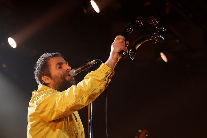 Britse zanger Liam Gallagher, hier te zien tijdens een optreden in Madrid.