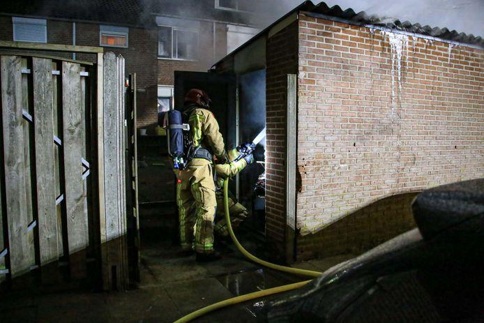 Brand aan het Twentehof.