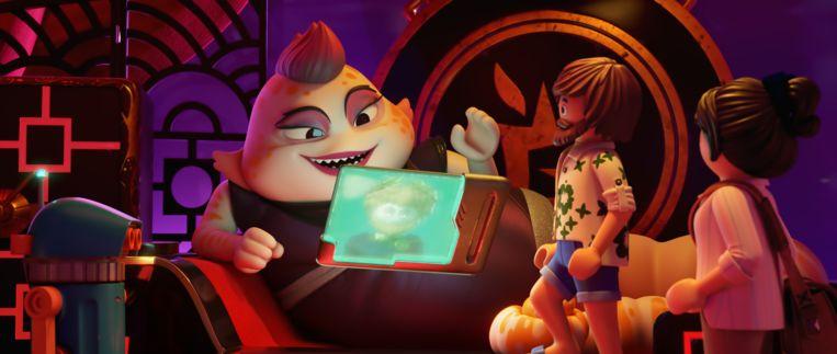 De animatie van 'Playmobil: The Movie' oogt vlak en oninteressant, vindt onze recensent. Beeld RV