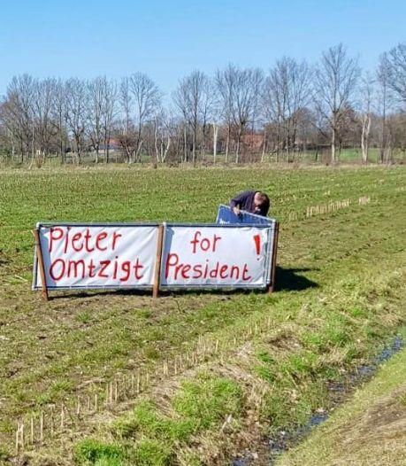 Achterhoekse boeren willen 'Pieter Omtzigt for president'