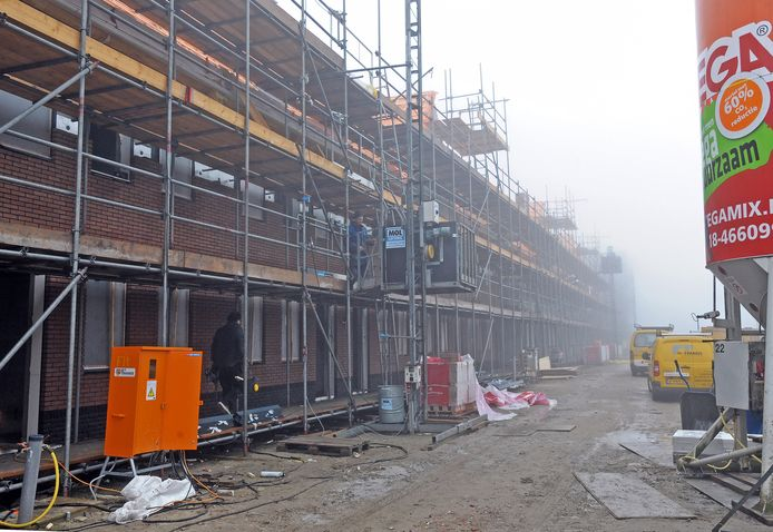 Nieuwbouw in de Terneuzense wijk Othene.
