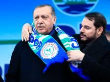 Schoonzoon Erdogan neemt via Instagram ontslag uit Turkse regering