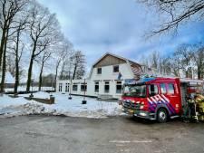 Schade na leidingbreuk bij bistro in Rossum