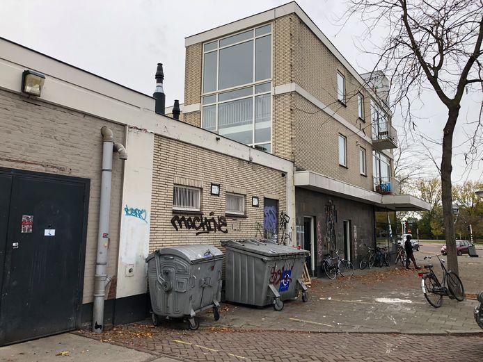 De plek in Eindhoven waar het archief van een Eindhovense ex-advocaat in februari werd gedumpt.