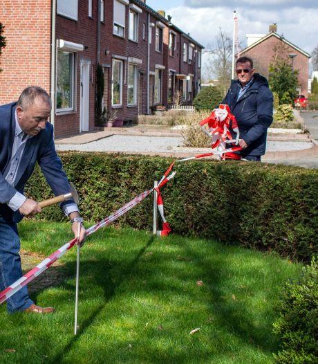 Kou moet uit de lucht na conflict over 'ingepikte' voortuintjes: SGP Waalwijk doet oproep