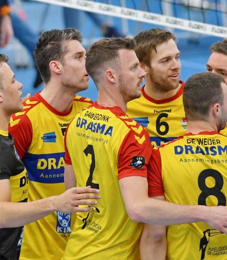 Corona zet ook streep door eerste duel om landstitel in  Apeldoorn tussen volleyballers Dynamo en Lycurgus