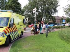 Man van fiets gereden door auto in Waalwijk