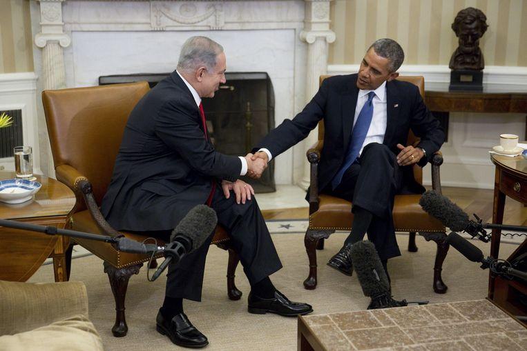 De Verenigde Staten en Israël hebben van oudsher een hechte band. Beeld epa