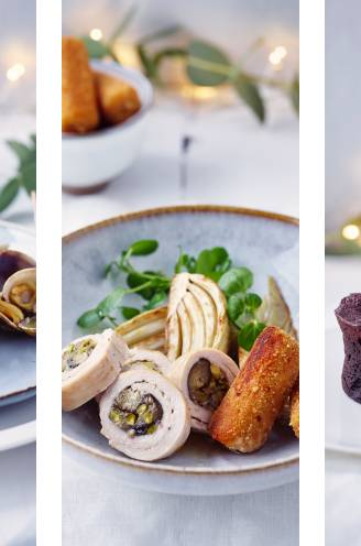"""Feesten zonder feestkilo's achteraf? Chef en diëtist Michaël Sels serveert zijn eindejaarsmenu. """"Met groenten in elke gang"""""""