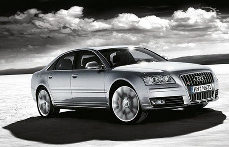 De Audi S8 is de vaakst gestolen luxewagen in Amerika. © Audi