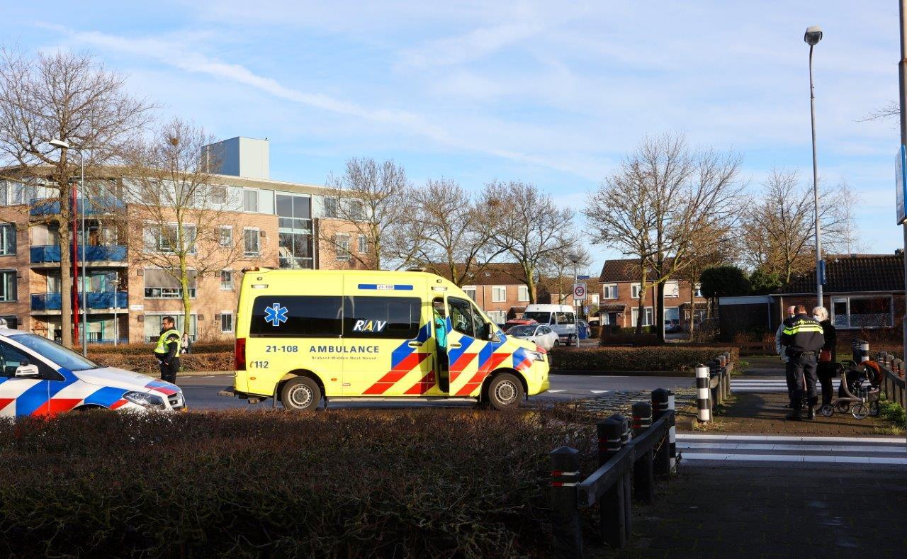 Ongeluk in Den Bosch.