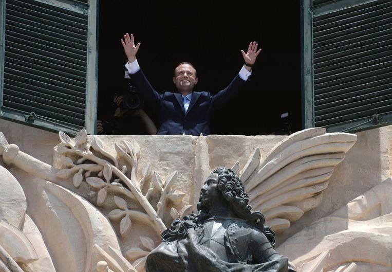 Maltees premier Joseph Muscat. Beeld EPA