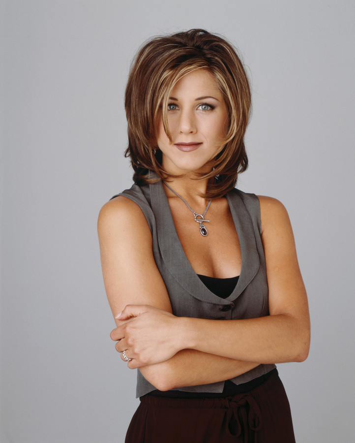 Jennifer Aniston als Rachel Green in 'Friends'