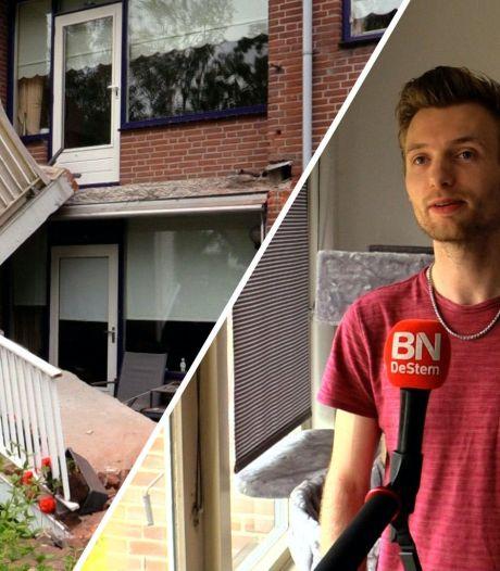 Onderzoek wijst uit: veel meer scheuren in balkons flat Oudenbosch