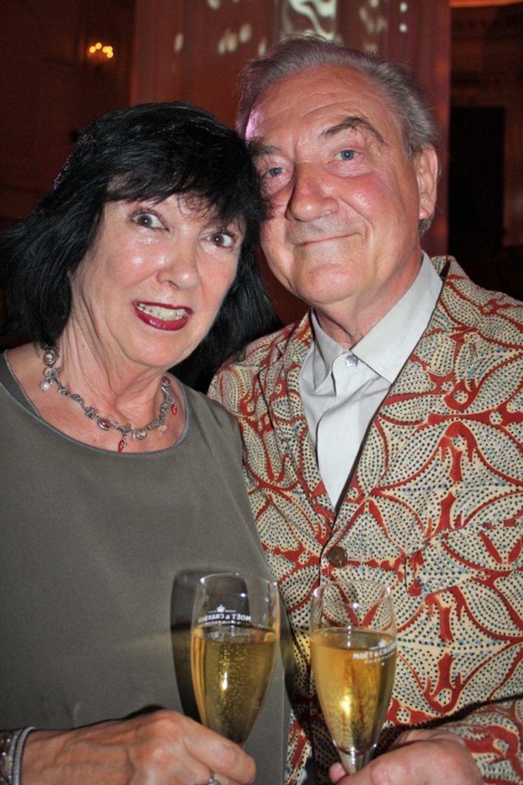 Nederlands bekendste Schoenenontwerper Jan Jansen en zijn vrouw Tonny. Beeld