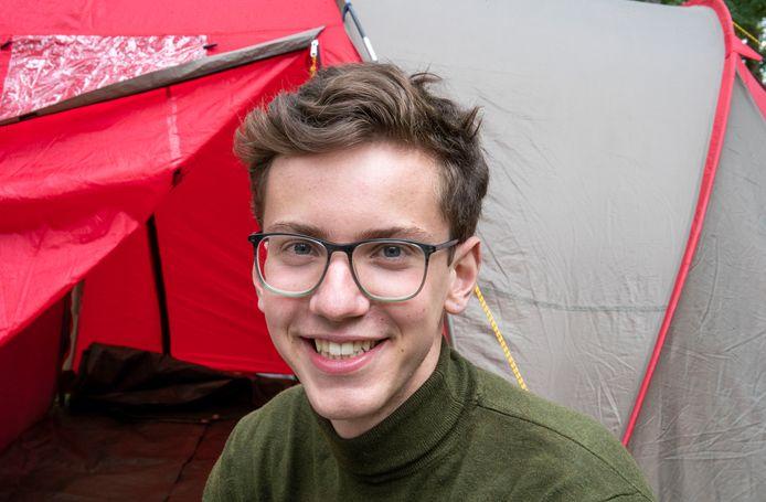 Gijs Veraart is naarstig op zoek naar een kamer in Wageningen.
