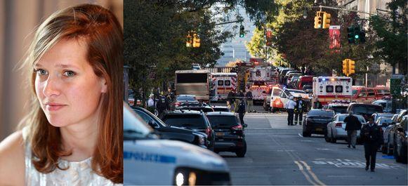 Ann-Laure Decadt (31) kwam vorige week om het leven tijdens de terreuraanslag in New York.