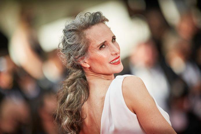 Andie MacDowell à Cannes