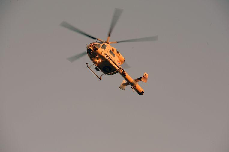 Illustratiebeeld van helicopter.