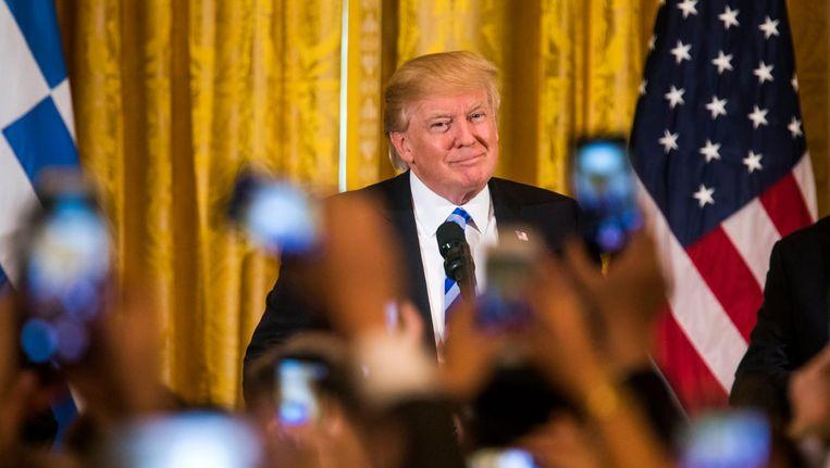 President Donald Trump Beeld epa