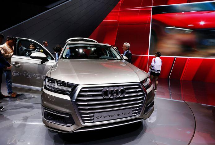 De Audi was een model Q7.
