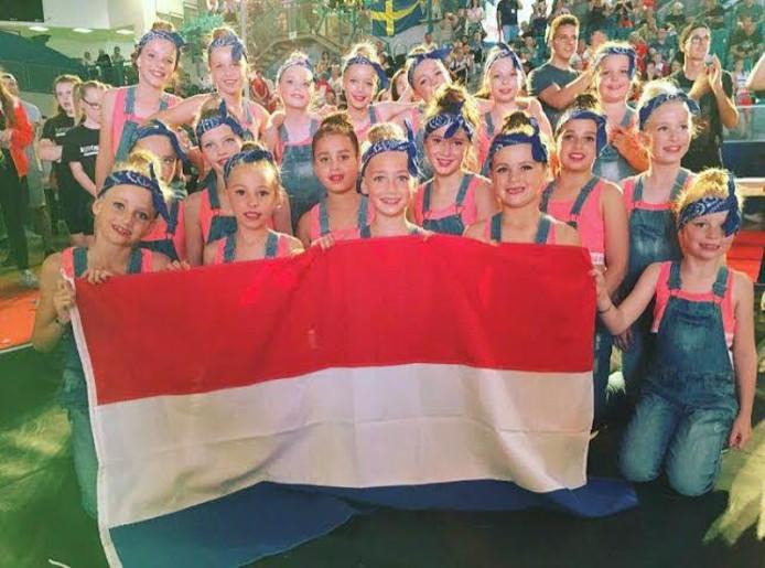 De meiden van Girl Power konden trots terugkijken op het EK in het Tsjechische Ostrava.