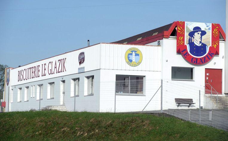 De fabriek die Dehaene gisteren bezocht.