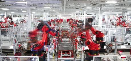Ook bij Tesla in Californië wordt geen auto meer gemaakt