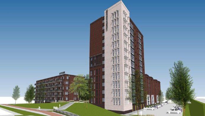 Het bouwvolume van het plan voor de Keerkring stuit buurtbewoners tegen de borst.