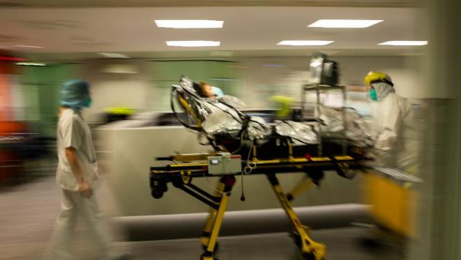 Gemiddeld meer dan 300 opnames per dag en al meer dan 3.000 mensen in het ziekenhuis