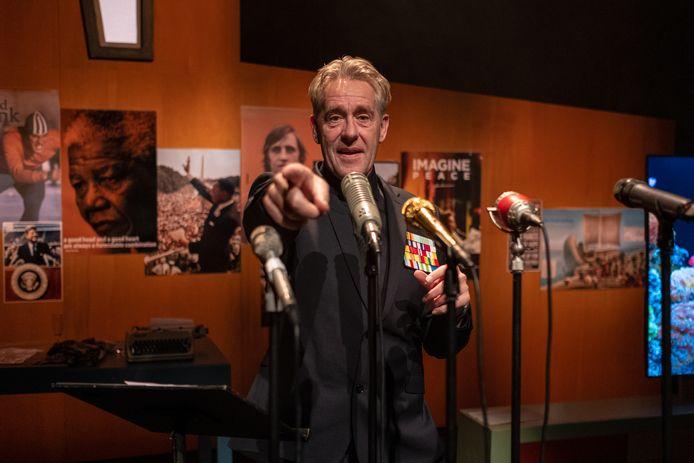 Theater Minister van Enthousiasme - Peter Heerschop Foto Jantje Geldof