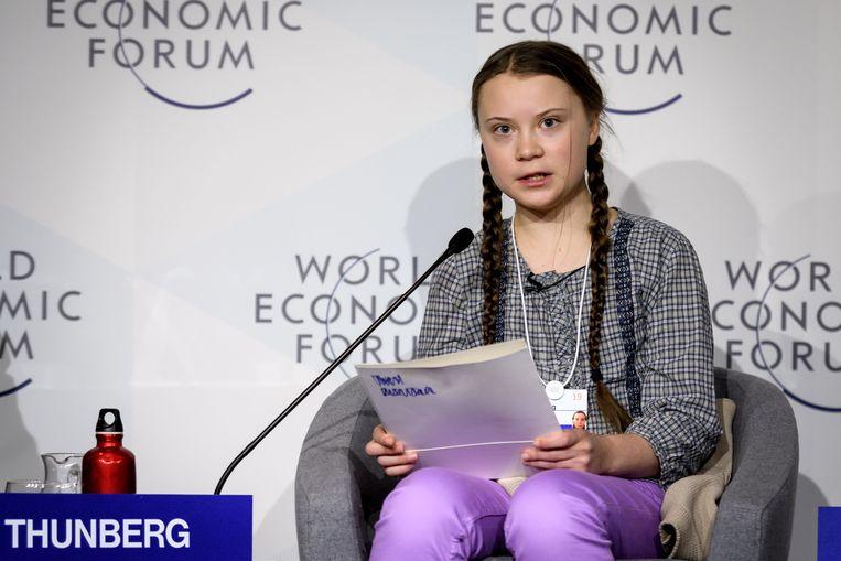 Greta Thunberg Beeld AFP