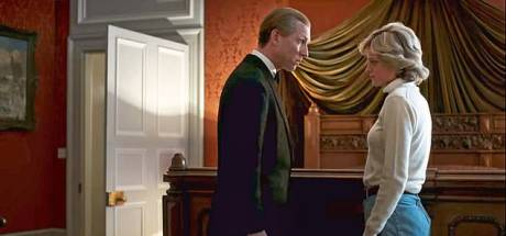 'Rillingen lopen over je rug' bij zien gesprek tussen Philip en Diana in The Crown