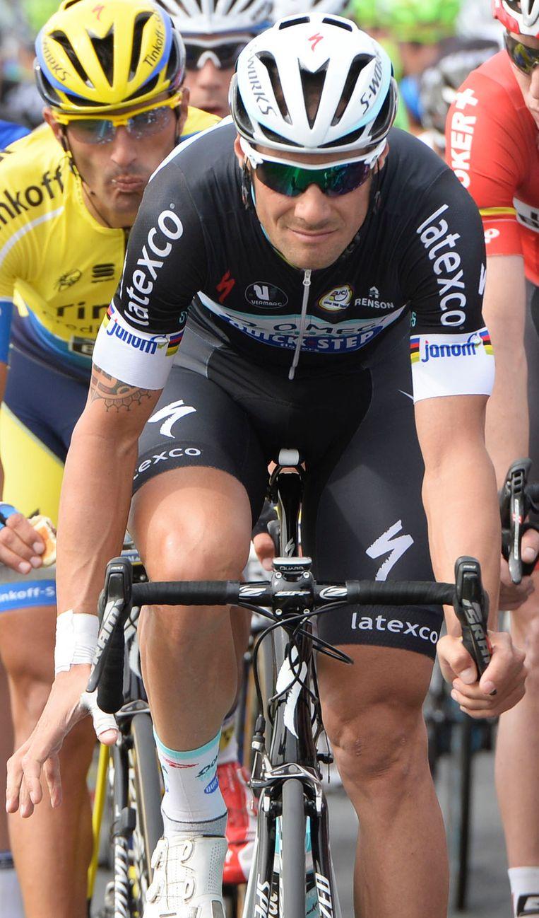 Tom Boonen. Beeld BELGA