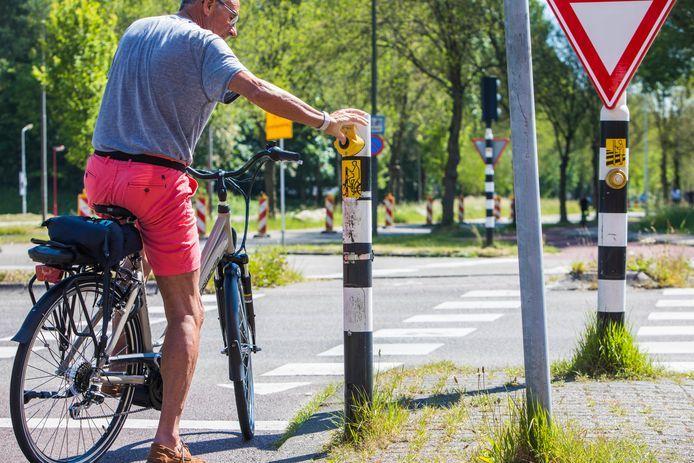 Drukken mag, maar is vaak overbodig bij verkeerslichten