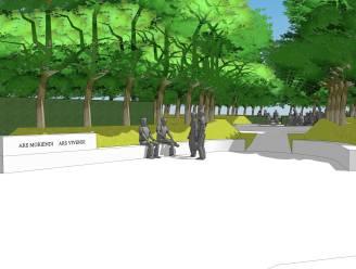 """Plannen voor de nieuwe begraafplaats in Proven klaar: """"We kiezen voor een zichtbare link met het landschap"""""""