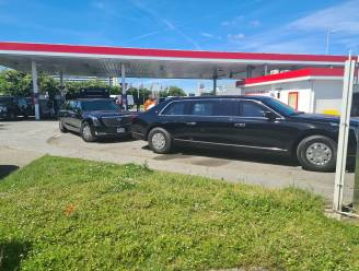 'The Beast has landed': gepantserde Cadillac president Biden gespot in Zaventem