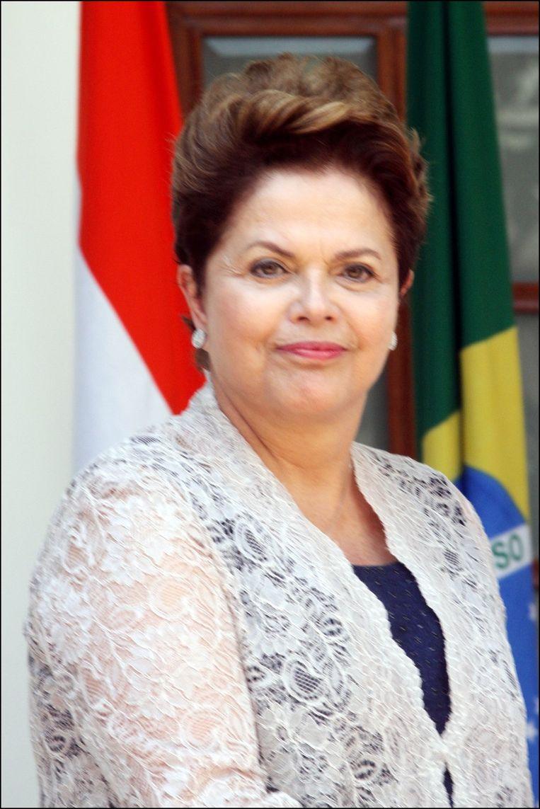 Dilma Rousseff. Beeld PHOTO_NEWS