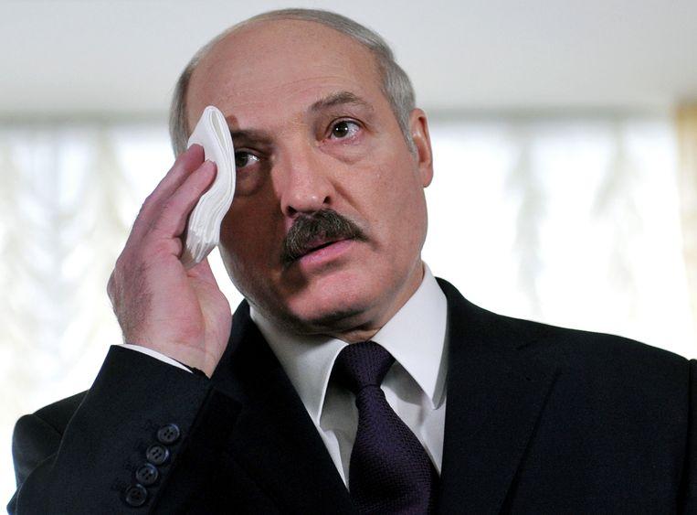Aleksandr Loekasjenko Beeld AFP