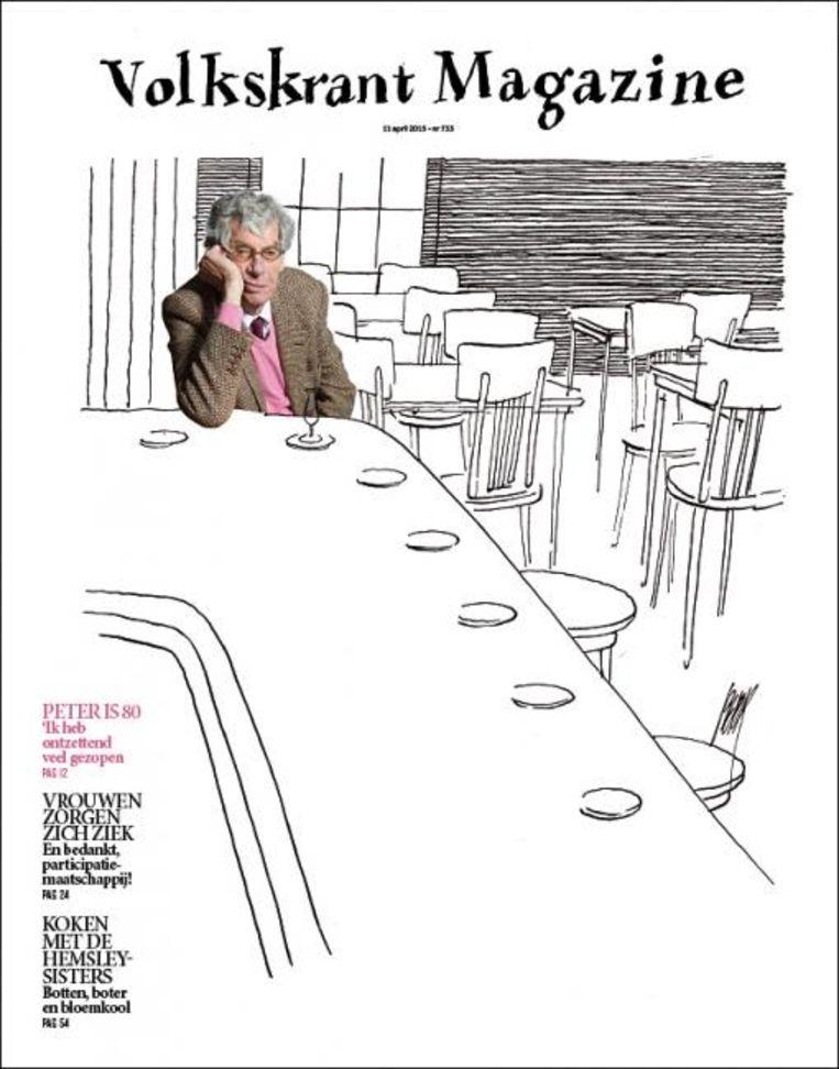 De cover van 11 april 2015. Beeld Volkskrant Magazine