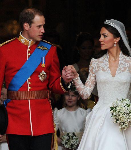 William et Kate fêtent leurs 10 ans de mariage et partagent un cliché inédit