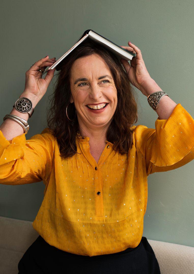 Anna van Praag: 'Ik probeer na mijn scheiding toch een soort nest te houden, wat mijn moeder niet meer is gelukt.'  Beeld Susanne Stange