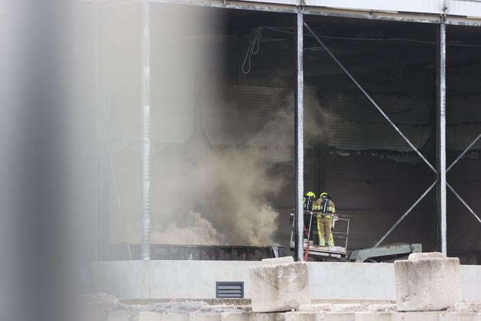 Brand in Velddriel