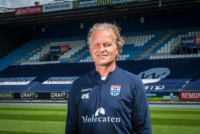 Gert Peter de Gunst neemt zondag tegen FC Groningen, na ruim twintig jaar, afscheid bij PEC Zwolle.