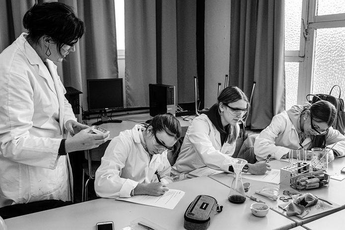 Sint-Laurens pakt ook uit met een nieuwe richting biowetenschappen.