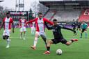 FC Emmen - RKC Waalwijk, in de nog lege Oude Meerdijk.