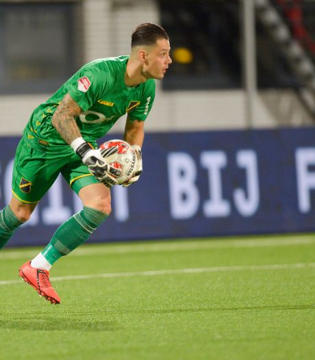 NAC-keeper Olij zelfkritisch: 'Die eerste goal mag er niet in'
