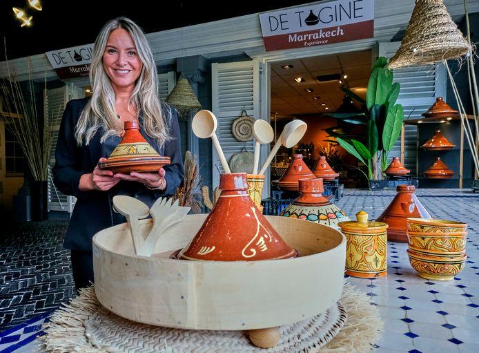 Eigenaresse Nora Ait Chitt in haar 'Marrakech Experience'.