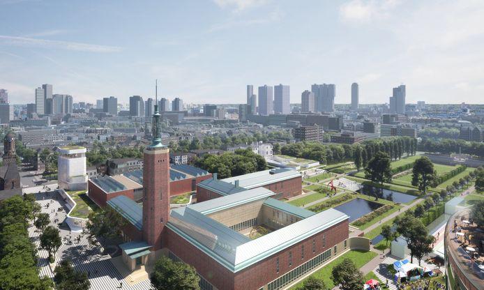 Museum Boijmans Van Beuningen, zoals het moet worden volgens architect Francine Houben
