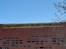 Na spandoek van Olympia nu ook een van VIOS aan het Maasziekenhuis: 'voor helden van Beugen'
